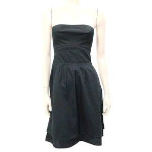 MARC BY MARC JACOBS STRAPLESS BLACK COTTON DRESS 2